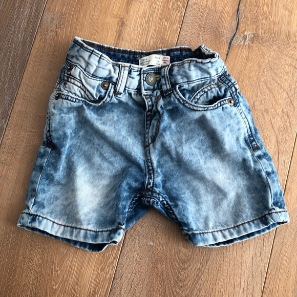0bad3cda2b Zara Bottoms | Baby Boy Denim Short Pants Size 1218m | Poshmark